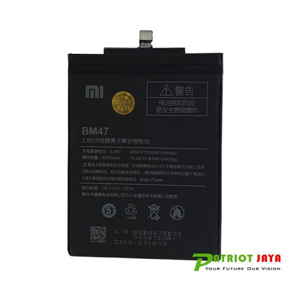 Jual Baterai Xiaomi Redmi 3 3S 3X 4X BM47