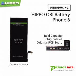 Jual Baterai Hippo Iphone 6 Original 1810 mAh Purwokerto Purbalingga