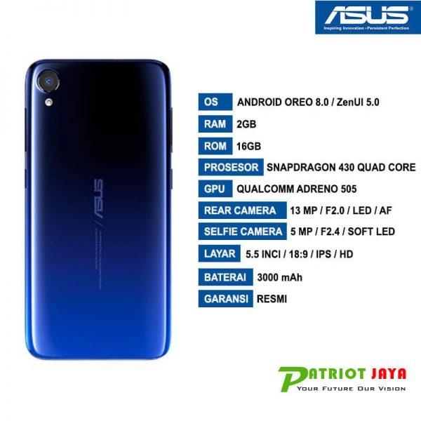 Harga Asus Zenfone Live L2 Blue Purwokerto
