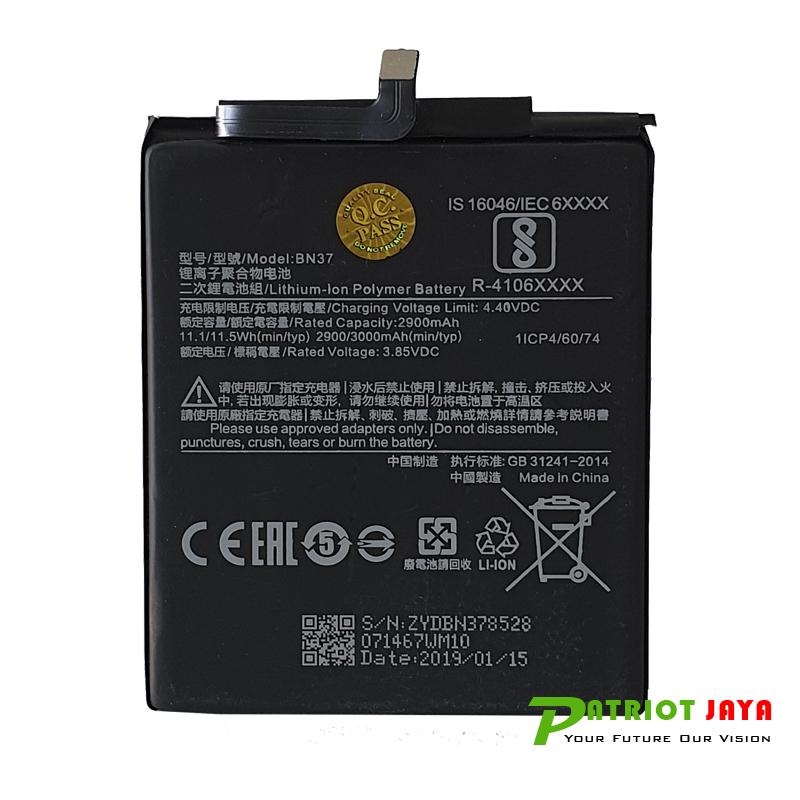 Jual Baterai BN-37 Xiaomi Redmi 6A Purwokerto