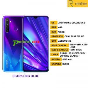 Jual RealMe 5 Pro Sparkling Blue di Purwokerto