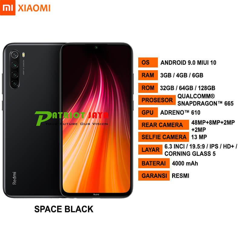 Spesifikasi Xiaomi Redmi Note 8