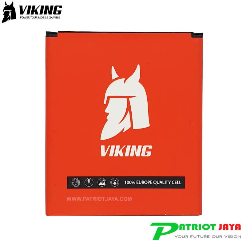 Baterai Viking BM41 BM44 Double Power