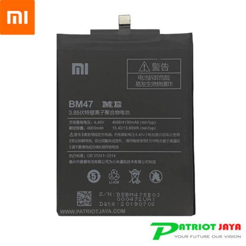 Harga Baterai Xiaomi Redmi 3 3S 4X BM47 ORI 99%
