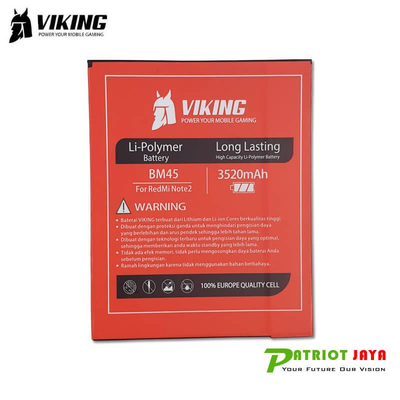 Harga Baterai Xiaomi Redmi Note 2 BM45 Viking