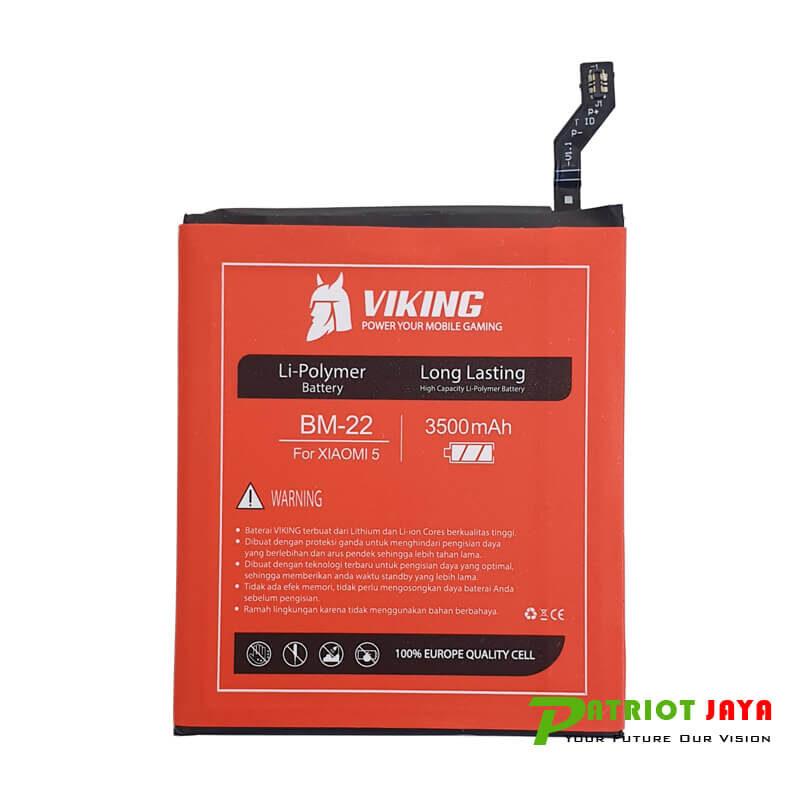 Harga Baterai Xiaomi MI5 BM22 Double Power Viking