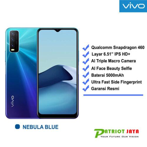 Harga VIVO Y20 Nebula Blue
