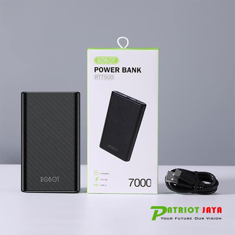 Harga ROBOT RT7500 7000mAh Power Bank