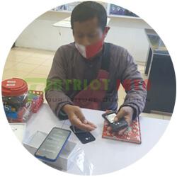 Pelanggan Patriot Jaya Cell 011