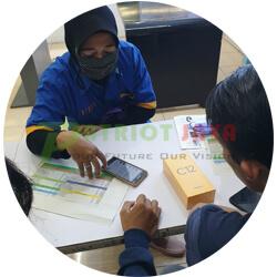 Pelanggan Patriot Jaya Cell 07