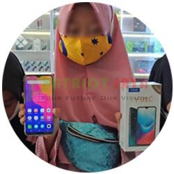 Pelanggan Patriot Jaya Cell 08