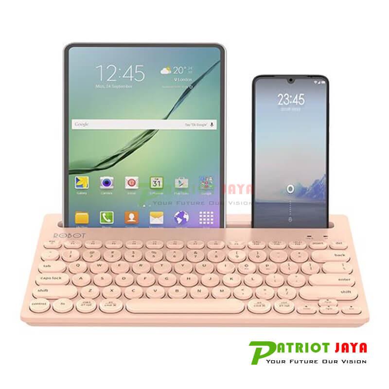 ROBOT KB10 PINK - Keyboard Bluetooth Multi-Device