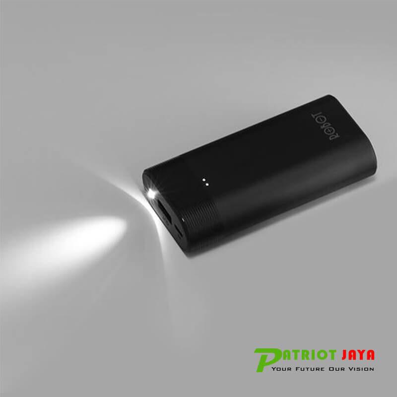 ROBOT RT-5800 Powerbank 5200 mAh LED Light Terang