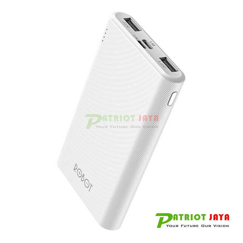 ROBOT RT7500 Dual Input Output 7000mAh Power Bank White