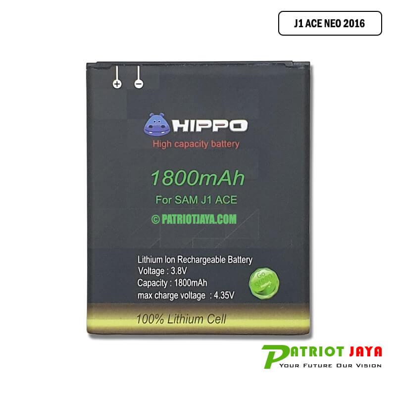 Harga Baterai Samsung Galaxy J1 Ace Neo 2016 SM-J111 Double Power Hippo