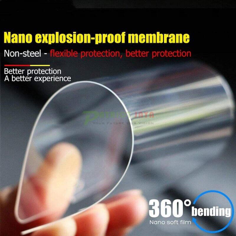 Pelindung Layar Nano Flexible Film Anti Bentur dan Gores