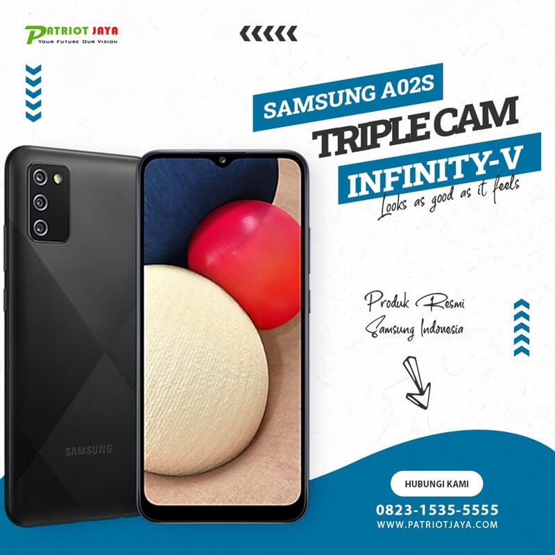 Harga Samsung Galaxy A02S SM-A025F Hitam