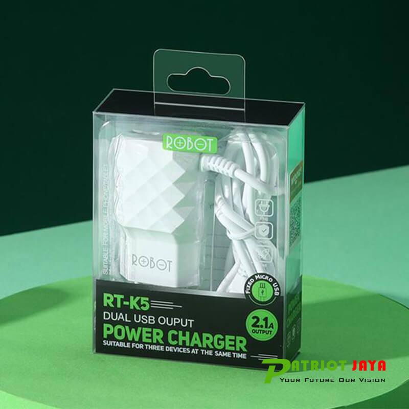 Robot Charger RT-K5 Dual USB Output